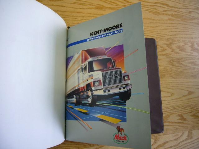 Mack Trucks: Kent-moore Tools For Mack Trucks