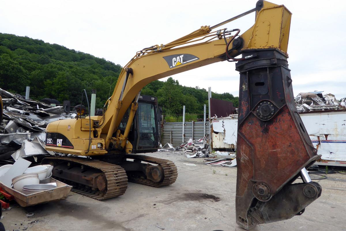 Heavy Duty Trucks >> 2003 Caterpillar 315C Excavator for sale by Arthur Trovei ...