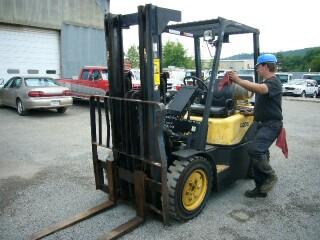 Daewoo G20S-3 Warehouse Forklift Lift Truck for sale by Arthur ...