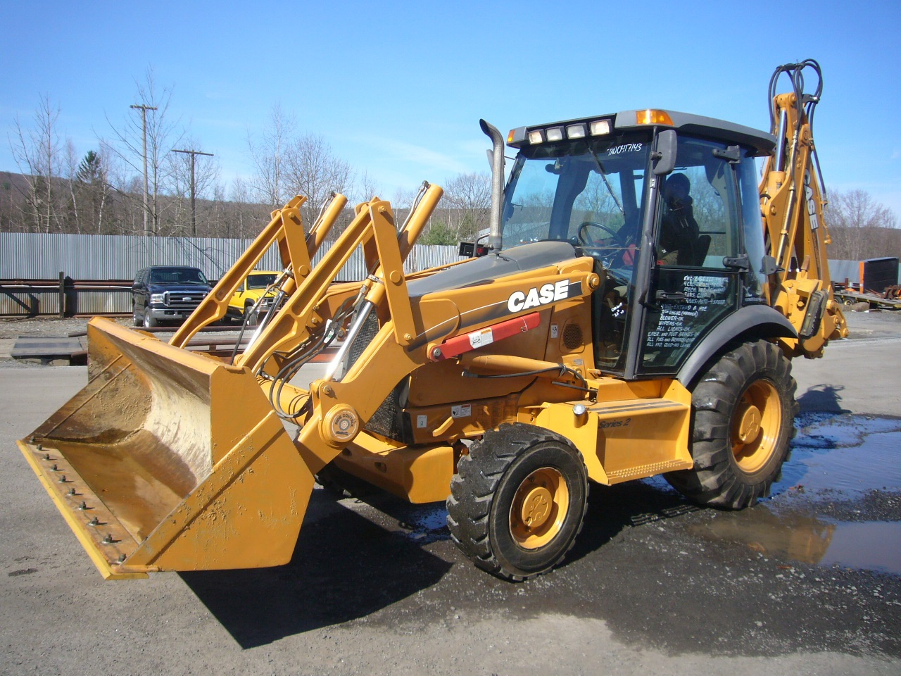2006 Case 580 Super M Series II Backhoe Loader for sale by