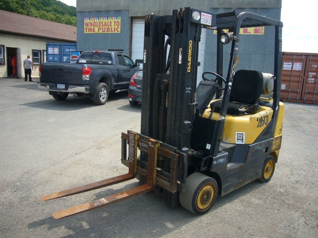 2000 Daewoo GC25P-3 Forklift for sale by Arthur Trovei & Sons - used