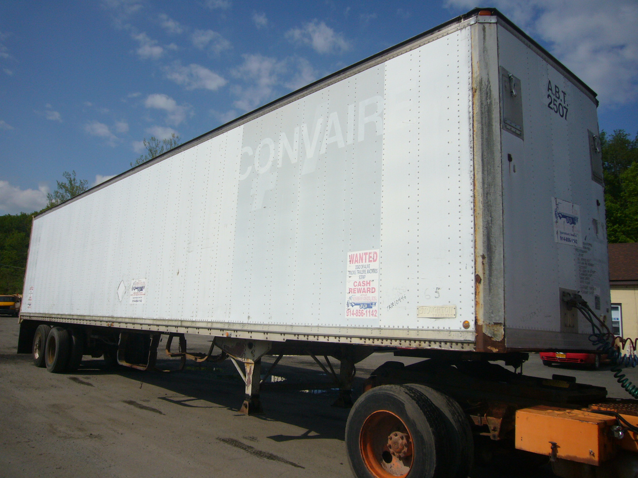 1983 Stoughton 48 Tandem Axle Dry Box Trailer For Sale By