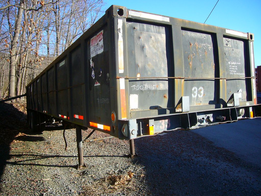 1974 Gindy Tandem Axle Dry Box Trailer For Sale By Arthur