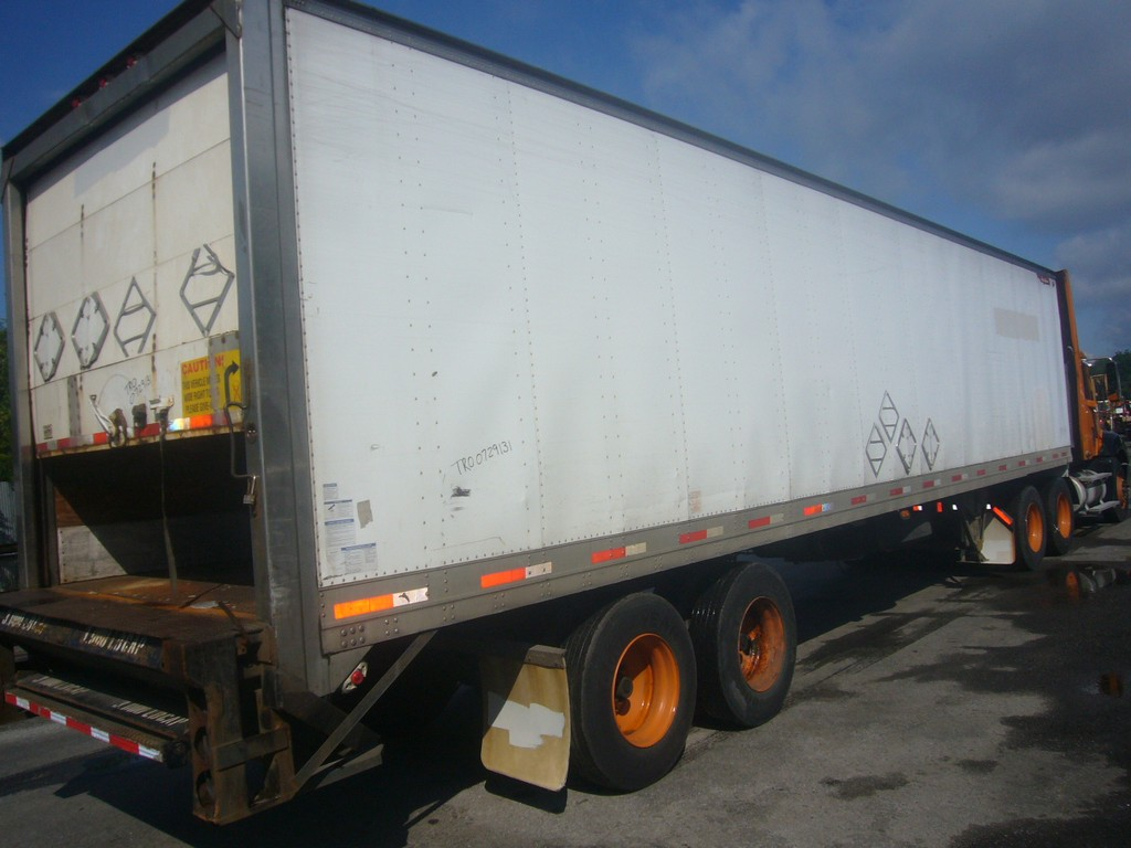 1998 Great Dane 40 Tandem Axle Heated Box Trailer For