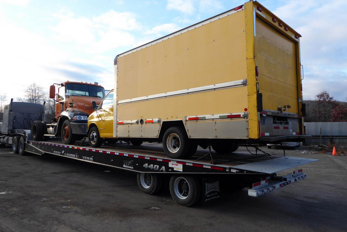 Rims And Tires For Trucks >> 2018 Landoll 440A-53 Tandem Axle Hydraulic Trailer for sale by Arthur Trovei & Sons, Inc. - used ...