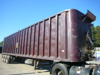 1997 Steco 45 Tri Axle Walking Floor Trailer For Sale By