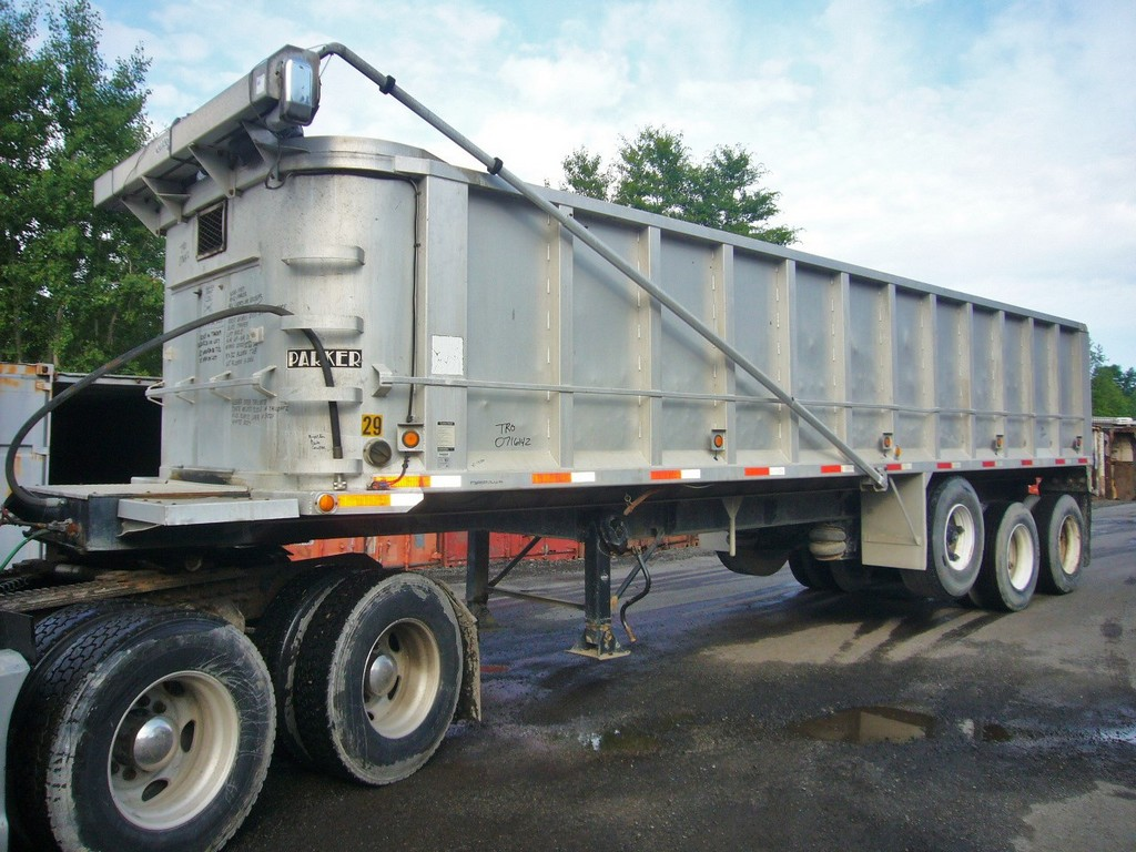 1987 Parker Tri Axle Dump Trailer for sale by Arthur Trovei
