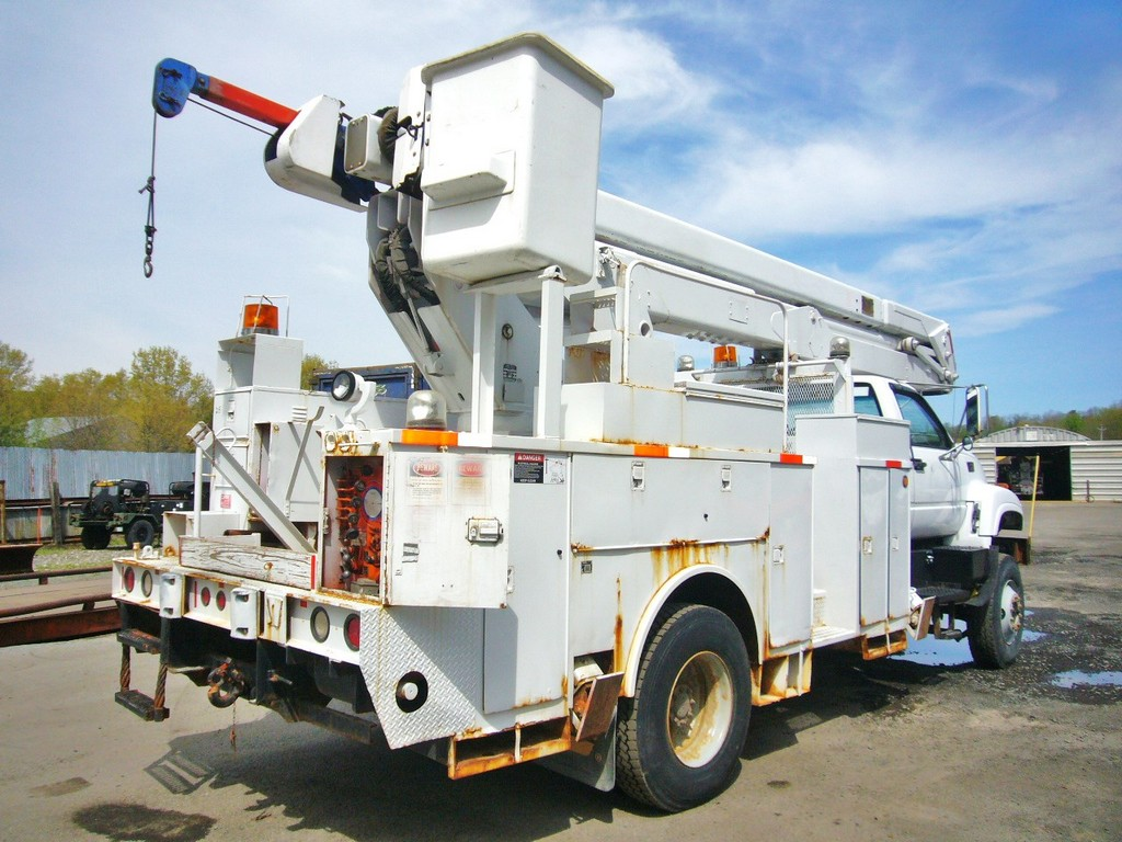 Used Gmc Trucks >> 1997 GMC C8500 AWD Single Axle Bucket Truck for sale by ...