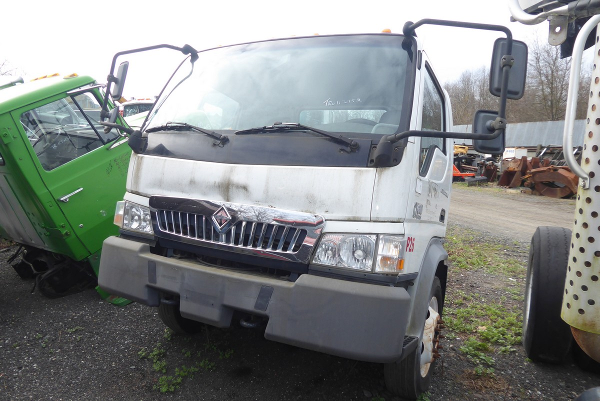 2006 International Cf600 Single Axle Box Truck For Sale By