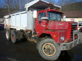 1979 Mack Dm686sx Tandem Axle Dump Truck For Sale By