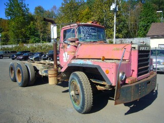 1973 Mack Dm895sx Tandem Axle Cab Amp Chassis For Sale By