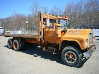 1978 Mack Rd4925 Tandem Axle Flatbed Dump Truck For Sale