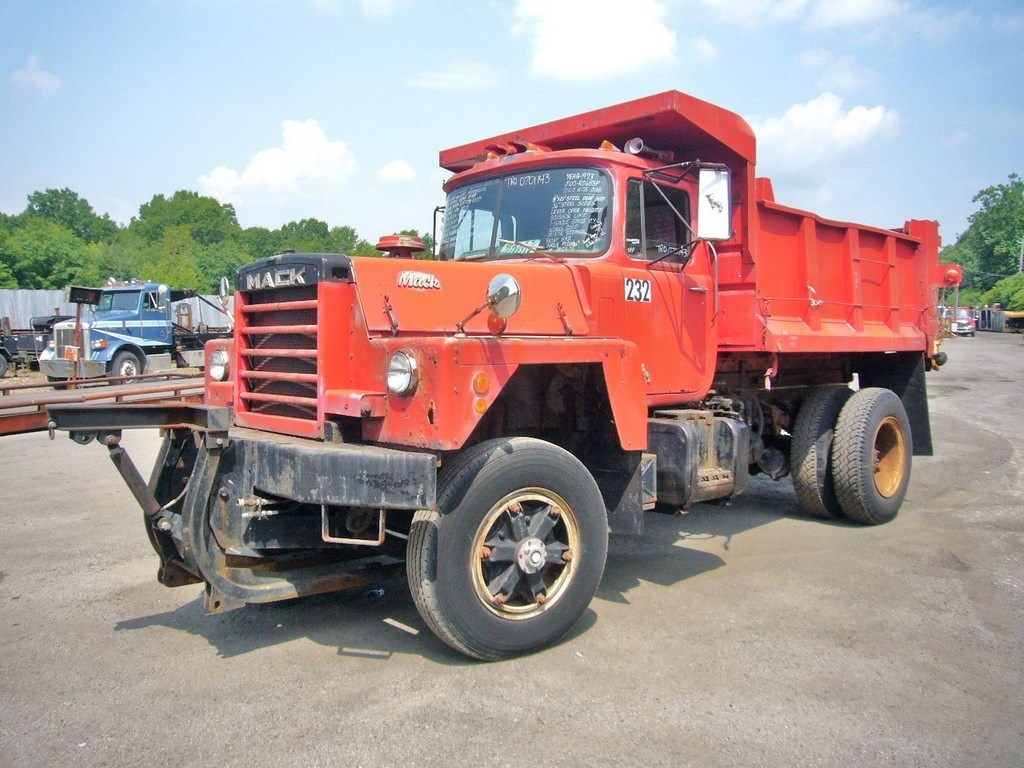 1973 Mack Tractor Truck : Mack rd p single axle dump truck for sale by arthur