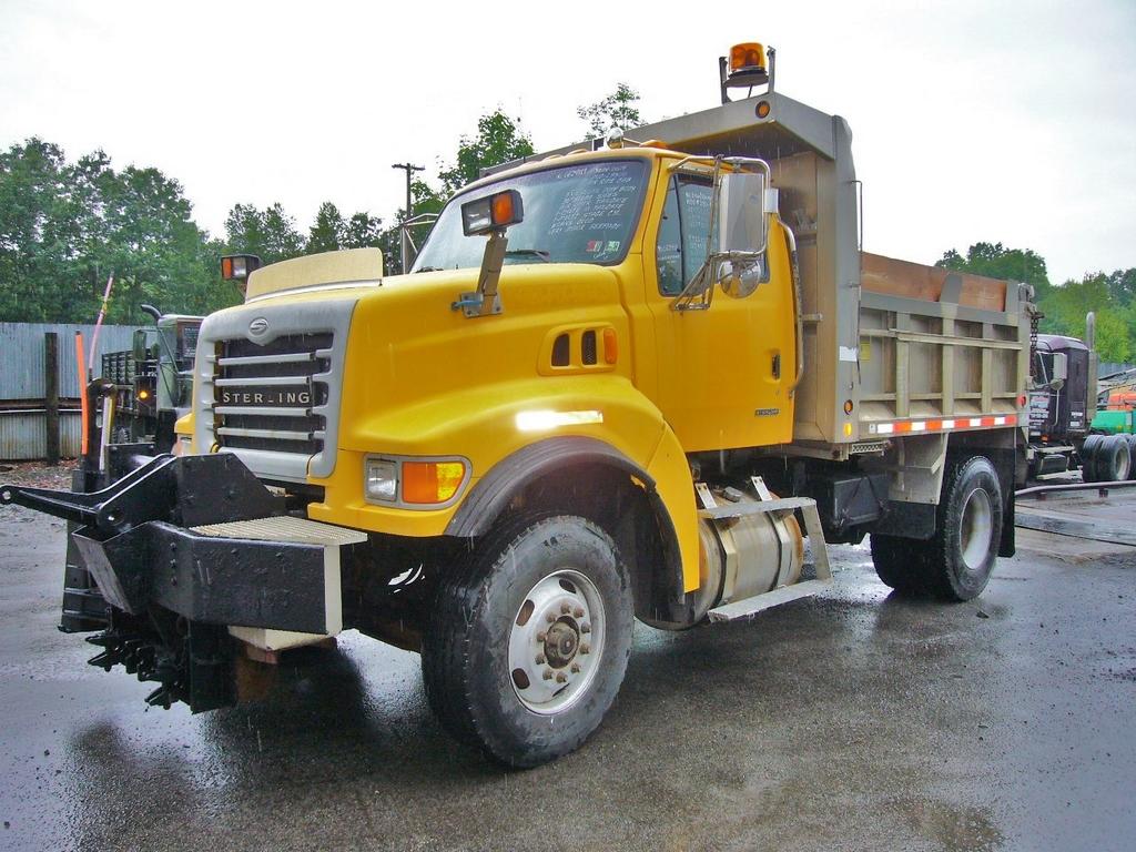 2004 Sterling L8500 Single Axle Dump Truck for sale by ...