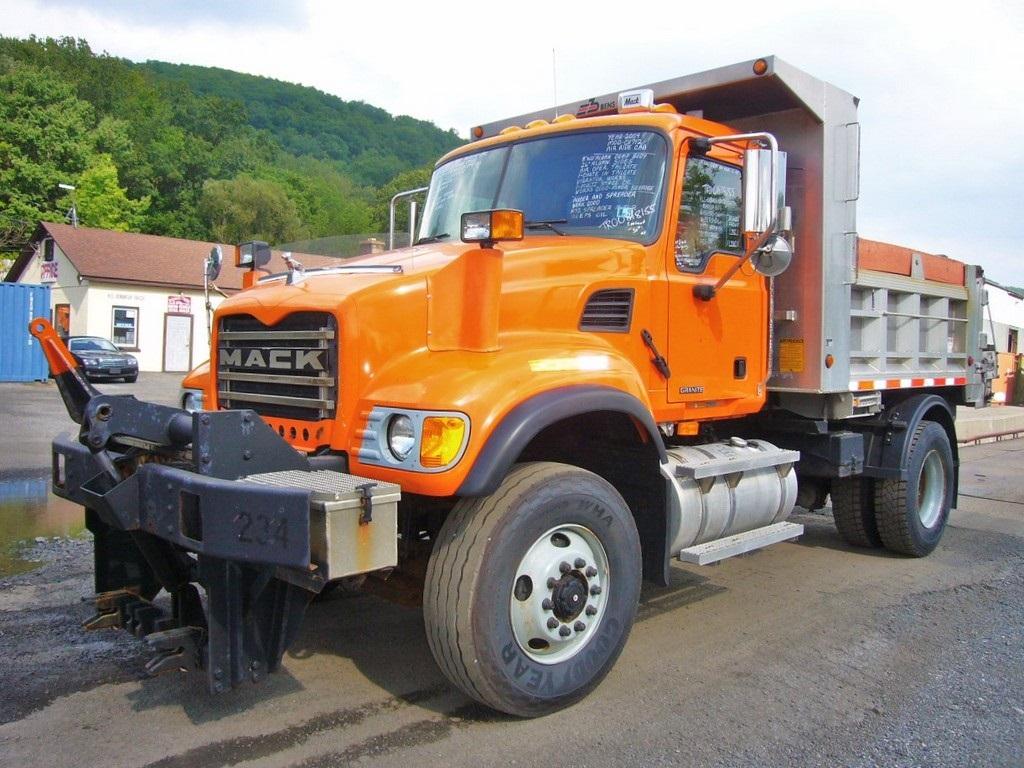 2004 Mack Cv712 Single Axle Dump Truck For Sale By Arthur