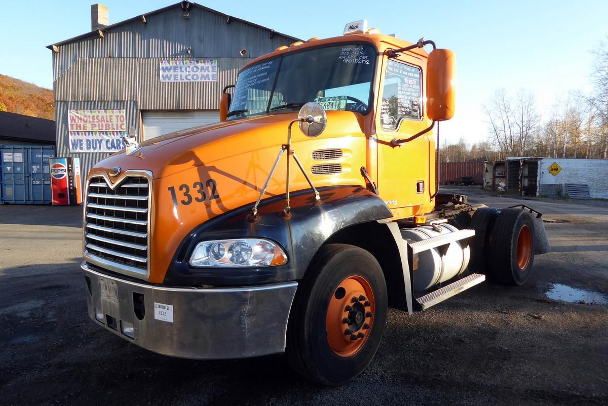 2004 Mack CX612 Single Axle Day Cab Tractor for sale by Arthur ...